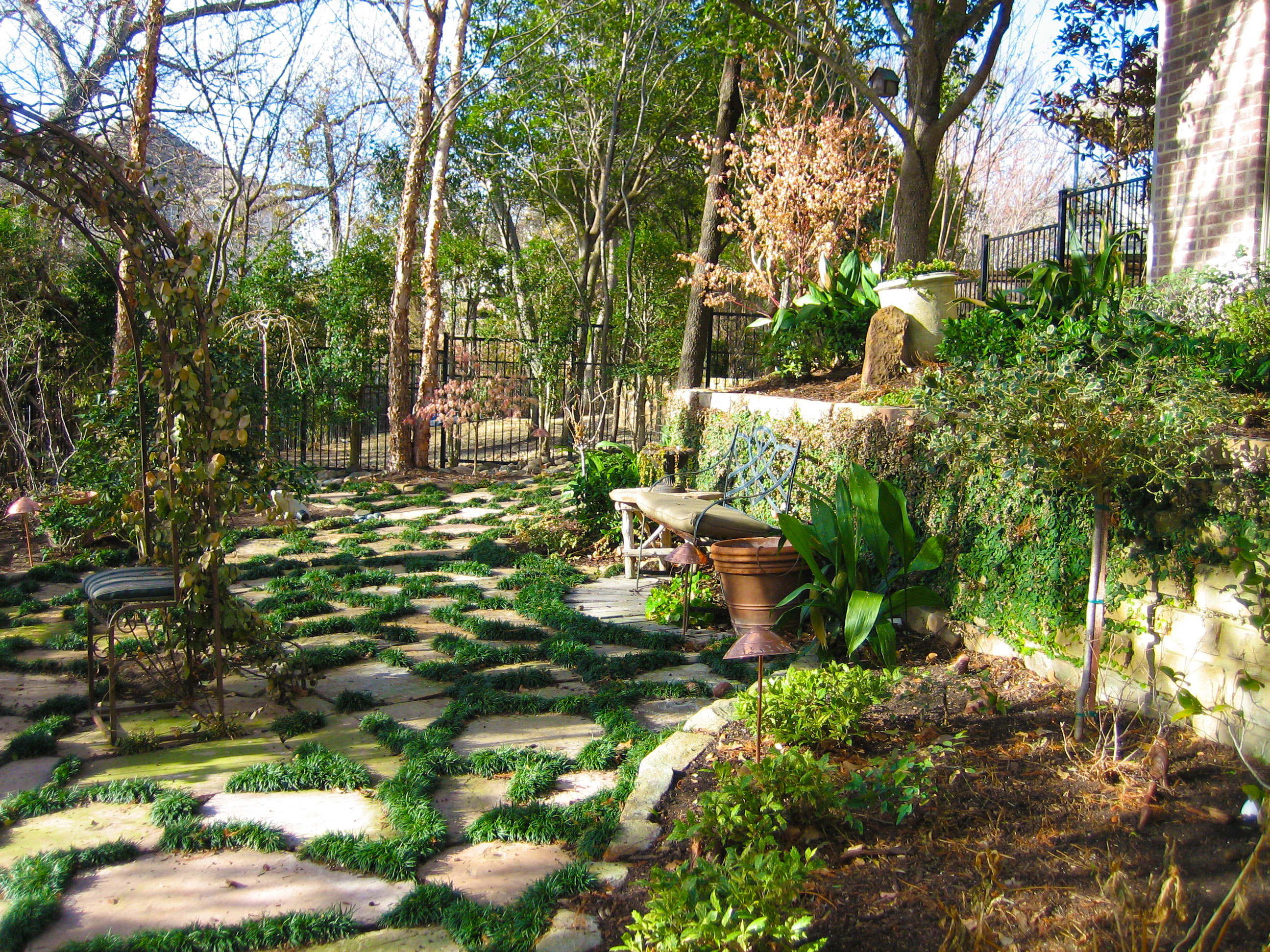 Logan landscaping for Landscaping ideas for wooded areas